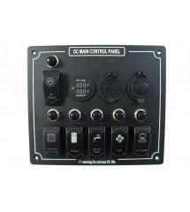 Switch panel universal 9...